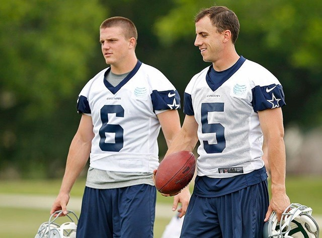 Chris Jones will head into camp as the regular holder for Dallas Cowboys kicker Dan Bailey - The Boys Are Back blog 2013