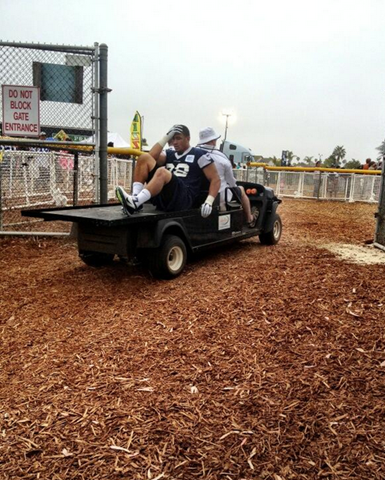 Dallas Cowboys DE Tyrone Crawford out for the 2013-2014 season with a torn achilles - The Boys Are Back blog 2013