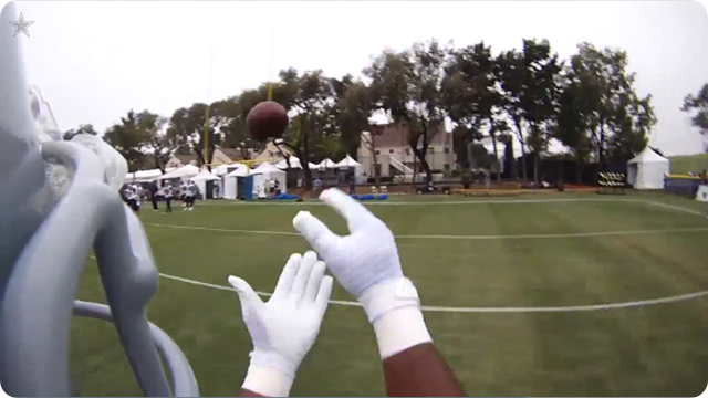 Dallas Cowboys Helmet Cam - DeMarco Murray training camp practice - The Boys Are Back blog 2013