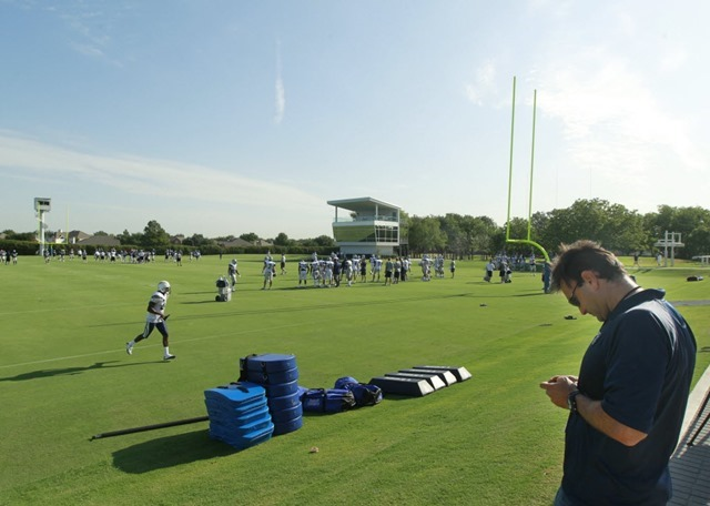 Dallas Cowboys training facility in Valley Ranch - The Boys Are Back blog 2013