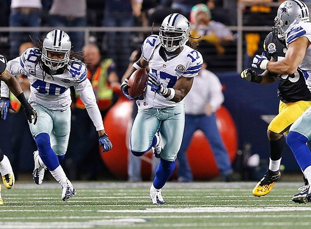 Dwayne Harris tallied 354 yards and 1 touchdown on 22 attempts with the Dallas Cowboys in 2012 - The Boys Are Back blog 2013