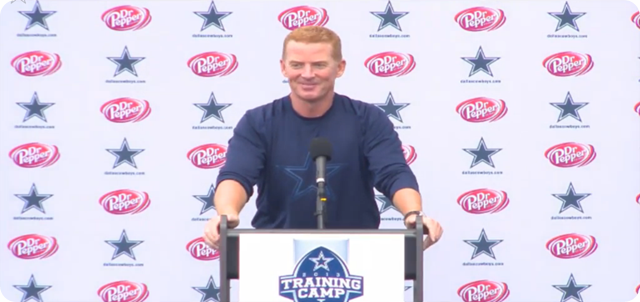 Jason Garrett press conference - 2013-2014 Dallas Cowboys training camp update - Day 5 - The Boys Are Back blog