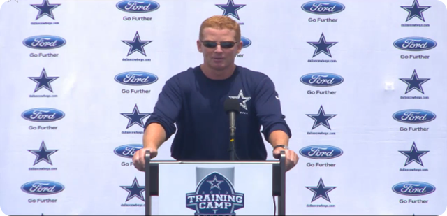Jason Garrett press conference - 2013-2014 Dallas Cowboys training camp update - The Boys Are Back blog