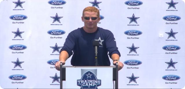 Jason Garrett press conference - 2013-2014 Dallas Cowboys training camp update - The Boys Are Back blog