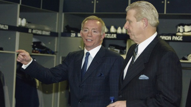 Jerry Jones and Bill Parcells helped each other - The Boys Are Back blog 2013