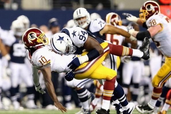 monte kiffin vs robert griffin - dallas cowboys' defense - the boys are back blog