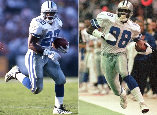 Never forget 1995 - Emmitt Smith and Michael Irvin - The Boys Are Back blog