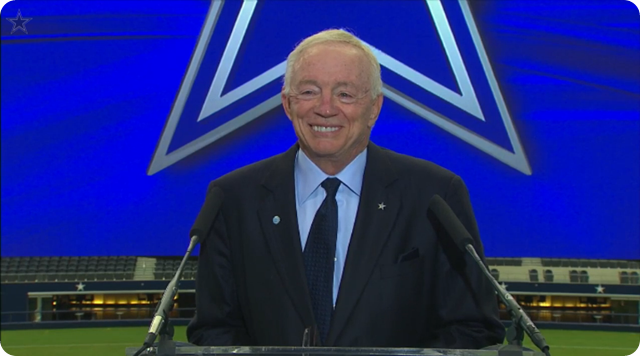 Watch the official AT&T Stadium announcement with Dallas Cowboys owner Jerry Jones - The Boys Are Back blog 2013