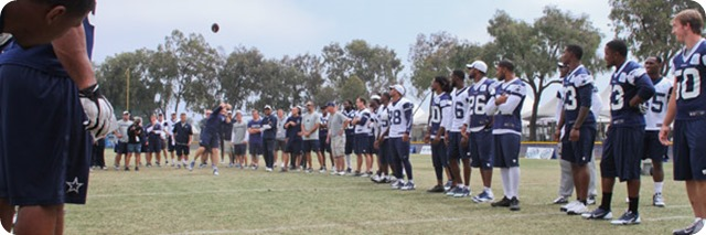 BEACH BOUND 'BOYS - Jason Garrett calls team bonding 'a really important piece' of training camp - The Boys Are Back blog 2013