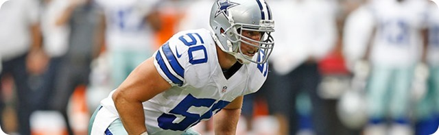 COWBOYS CONTRACT EXTENSION - Dallas linebacker Sean Lee signs six-year $51 million deal