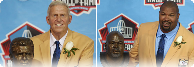 Dallas Cowboys had two members of this year's Pro Football Hall of Fame induction ceremony - The Boys Are Back blog 2013