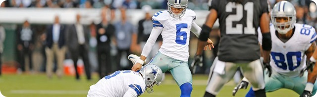 Dallas Cowboys kicking game woes prove costly in preseason loss - The Boys Are Back blog 2013