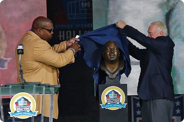Dallas Cowboys lineman Larry Allen inducted into the Pro Football Hall of Fame - Jerry Jones - The Boys Are Back blog 2013