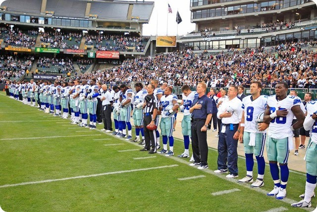 Dallas Cowboys - Opening ceremony - The Boys Are Back blog 2013
