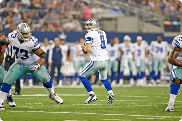 DRESS REHEARSAL REVIEW - Tony Romo believes the starters on the right track - Dallas Cowboys offensive line giving Romo time in pocket