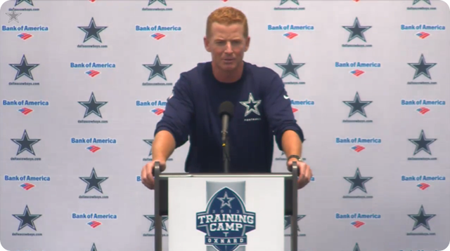 Jason Garrett press conference - 2013-2014 Dallas Cowboys training camp update - Dallas Cowboys vs Miami Dolphins - The Boys Are Back blog
