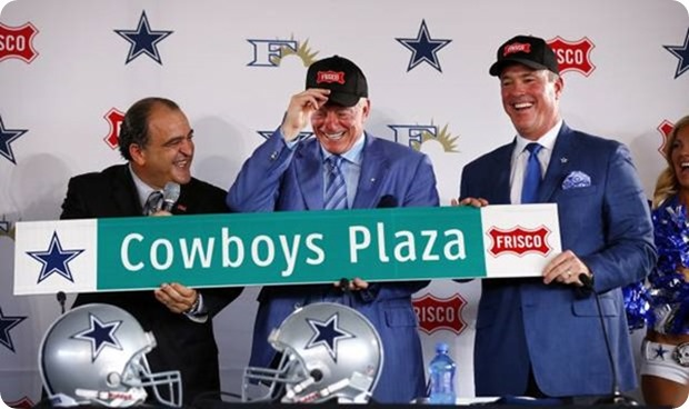 Jerry Jones press conference announcing the relocation of the Dallas Cowboys headquarters and practice facility to Frisco - The Boys Are Back blog