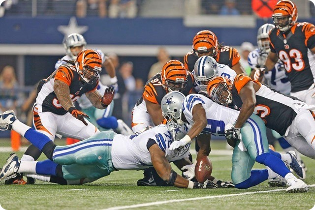 MESSAGE SENT AND RECEIVED - Jason Garrett impressed with DeMarco Murray response to benching - The Boys Are Back blog 2013 - Fumble