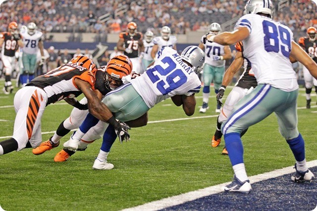 MESSAGE SENT AND RECEIVED - Jason Garrett impressed with DeMarco Murray response to benching - The Boys Are Back blog 2013 - Murray effort leads to TD