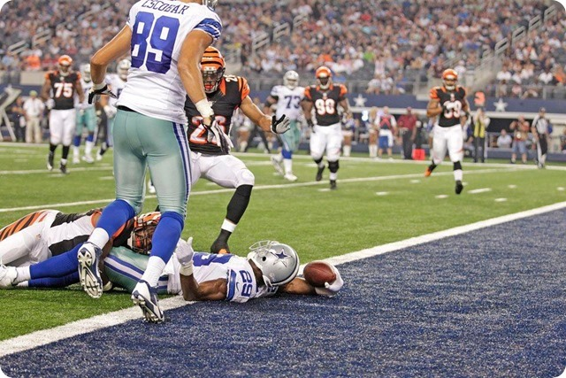 MESSAGE SENT AND RECEIVED - Jason Garrett impressed with DeMarco Murray response to benching - The Boys Are Back blog 2013 - Murray touchdown