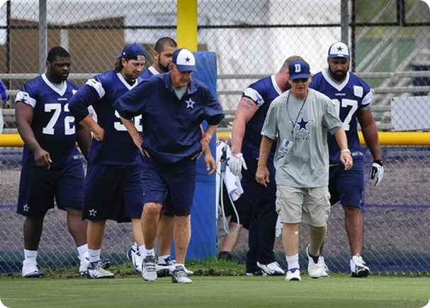 Monte Kiffin and Rod Marinelli creating the Dallas Cowboys Texas 2 defense - The Boys Are Back blog 2013