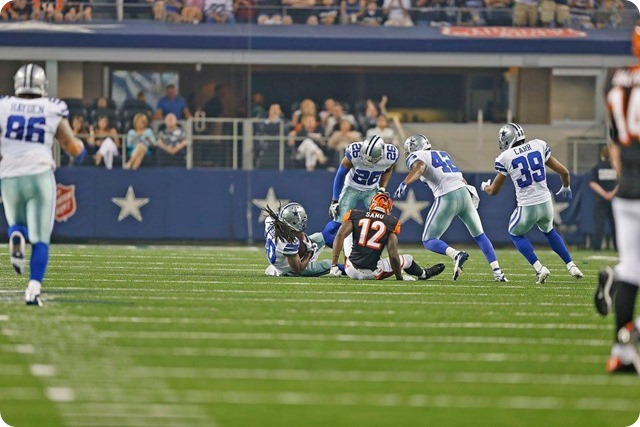 TEXAS 2 DEFENSE - Starters continue to excite in 24-18 preseason win at AT&T Stadium - The Boys Are Back blog 2013 - Dallas Cowboys intimidate