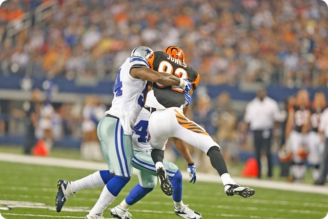 TEXAS 2 DEFENSE - Starters continue to excite in 24-18 preseason win at AT&T Stadium - The Boys Are Back blog 2013 - Dallas Cowboys tackle