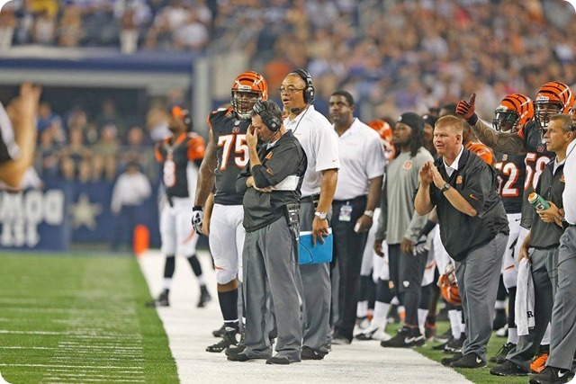 TEXAS 2 DEFENSE - Starters continue to excite in 24-18 preseason win at AT&T Stadium - The Boys Are Back blog 2013 - Bengals coach frustrated