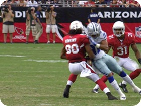 THE BIG BANG THEORY - Cowboys safety Micah Pellerin draws a fine for hit against Cardinals - Small
