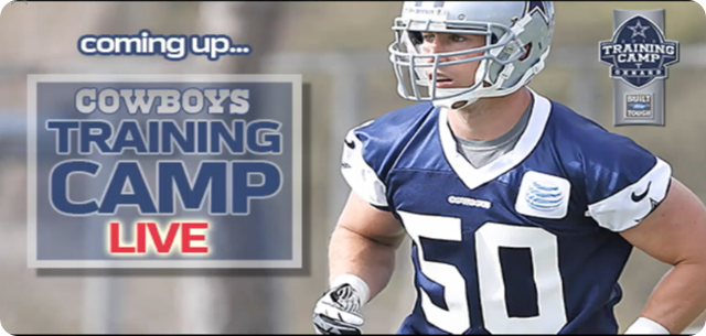 Training Camp LIVE - Silver and Blue Debut 2013 - The Boys Are Back blog - Watch Dallas Cowboys