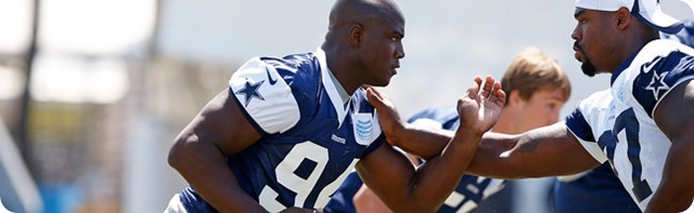 TRAINING CAMP REPORT CARD - Dallas Cowboys top 10 performers in 2013-2014 offseason - The Boys Are Back blog