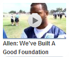 Video - Allen - We've built a good foundation