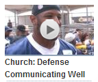 Video - Barry Church - Texas 2 defense communicating well - The Boys Are Back blog 2013