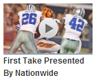 VIDEO - First Take Presented By Nationwide Insurance - Cincinnati Bengals vs Dallas Cowboys preseason - 2013