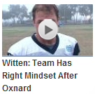 Video - Witten - Team has the right mindset after oxnard - The Boys Are Back blog 2013