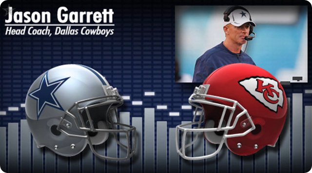 Audio - Jason Garrett press conference with Kansas City media