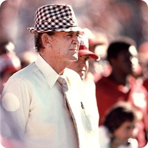 Bear Bryant retired in 1982, after 25 years as Alabama's head coach. He died four weeks after coaching his last game for the Crimson Tide.