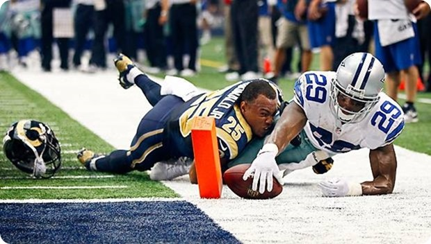 COWBOYS CORRAL RAMS - DeMarco Murray leads 31-7 rout with 175 rushing yards