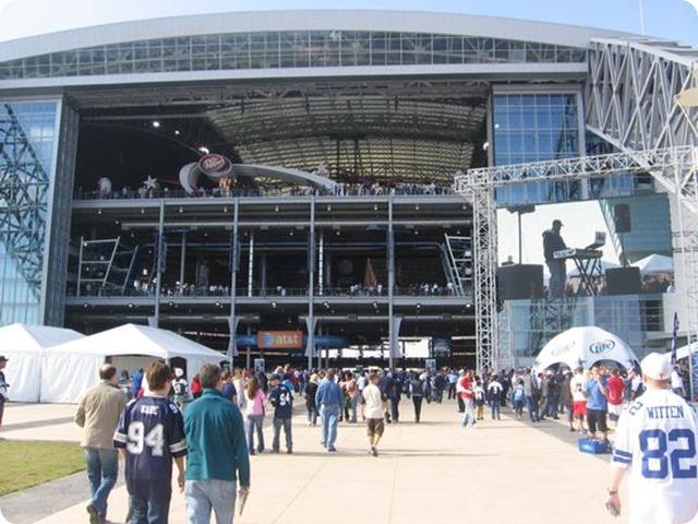 Dallas Cowboy Party on the Plaza - Dallas Cowboys AT&T Stadium pregame events - The Boys Are Back blog 2013