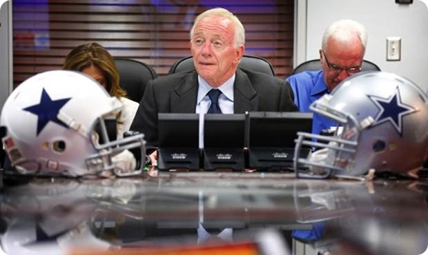 Dallas Cowboys owner Jerry Jones on NFL Network in May 2013 - The Boys Are Back blog
