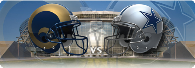 Dallas Cowboys vs. St. Louis Rams - 2013-2014 Dallas Cowboys schedule - The Boys Are Back blog 2013