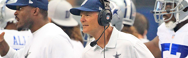 EVALUATING THE TEXAS-2 DEFENSE - Monte Kiffin and Rod Marinelli coaching havoc and reaping rewards - Dallas Cowboys DL coach Rod Marinelli