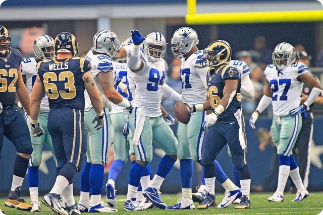 FILM ROOM BREAKDOWN - Dominance on the Texas-2 Defensive Line - 2013-2014 Dallas Cowboys vs. St. Louis Rams