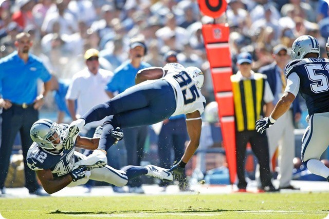 GAME FILM BREAKDOWN - THE TWIT FACTOR - Taking What Is There - 2013-2014 Dallas Cowboys vs. San Diego Chargers - Church on coverage