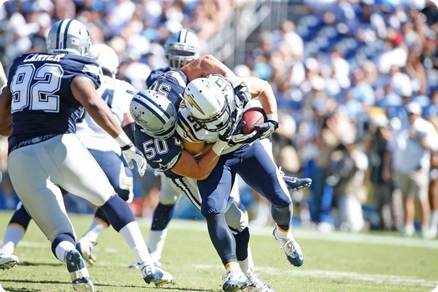 GAME FILM BREAKDOWN - THE TWIT FACTOR - Taking What Is There - 2013-2014 Dallas Cowboys vs. San Diego Chargers - Carter and Lee