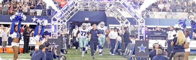 GAMEDAY EVENTS - Dallas Cowboys opening day entertainment at AT&T Stadium - Going to the Game information - The Boys Are Back blog 2013