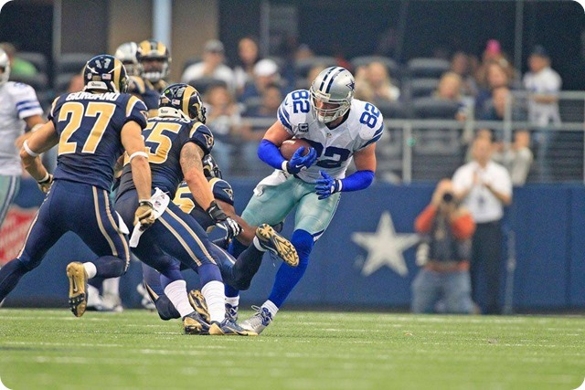 GAMEDAY STATS AND QUOTES - 2013-2014 Dallas Cowboys vs. St. Louis Rams–Week 3 - Jason Witten reception