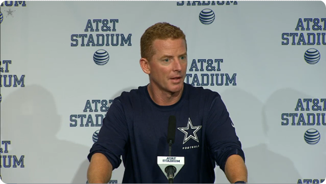 JASON GARRETT PRESS CONFERENCE - 2013 Dallas Cowboys vs. Kansas City Chiefs - 2013-2014 Dallas Cowboys schedule