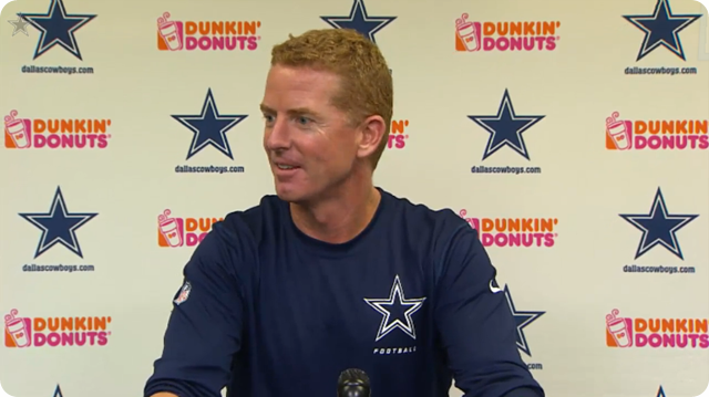 JASON GARRETT PRESS CONFERENCE - 2013 Dallas Cowboys vs. Kansas City Chiefs–First road trip of season