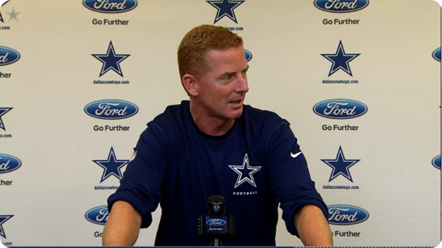 JASON GARRETT PRESS CONFERENCE -2013 Dallas Cowboys vs. San Diego Chargers–Second road trip of season - Dallas Cowboys schedule 2013-2014